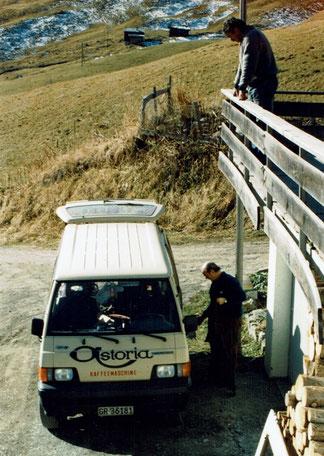 Servicewagen / Geiger gastrotechnik Chur / Skihaus Casanna