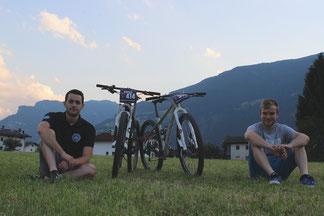 Dominik und Lukas von Rund ums Rad
