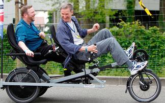 Spezialrad selbst (er)fahren: Große Probeparcours werden im kommenden April viele Radfans auf die 20. Internationale Spezialradmesse 2015 locken © Spezialradmesse