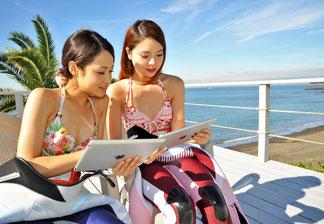 eラーニングオープンウォーターコースはPS・スマホでインターネット学習&当日は海洋実習