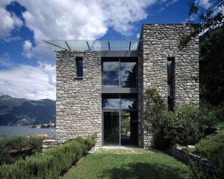 costruzione in muratura di pietra