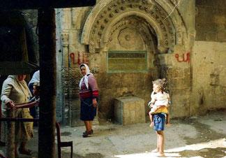 meine Herbege lag in Ost-Jerusalem, im palästinenischem Teil