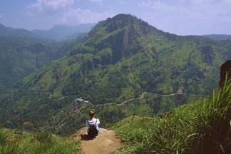 Ausblick vom Little Adam's Peak