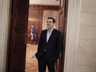 Für Alexis Tsipras ist das Thema Schuldenschnitt noch lange nicht beendet. Foto: Petros Giannakouris