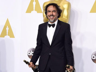 Der mexikanische Regisseur Alejandro G. Iñárritu ist der Mann des Abends. Foto: Paul Buck