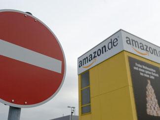 Das Logistikzentrum von Amazon in Leipzig. Foto: Peter Endig/Archiv