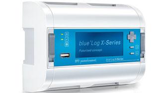 meteocontrol setzt bei Monitoring-Hardware blue'Log X-Serie auf habemus!