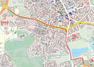 Karte: Pressestelle Stadt Gelsenkirchen