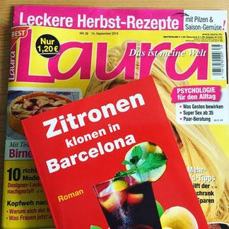 """Buch-Tipp in der Zeitschrift """"Laura""""."""