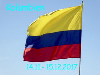 Bild: Flagge Kolumbiens