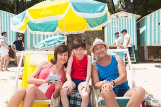 Le Petit Nicolas passe les vacances à la plage avec ses parents (©Jean-Marie Leroy/Wild Bunch Distribution)
