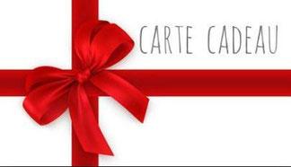 Achetez une carte cadeau en ligne !