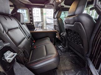 Endlich ein kompletter, hochwertiger Innenausbau für den Jeep Wrangler JK Unlimited