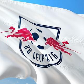 Fahne RB Leipzig