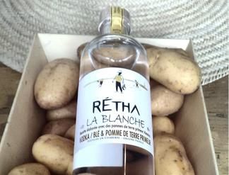 Retha La Blanche Wheat & Potato Vodka