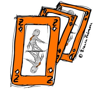 Spielkarten © Bianca Fuhrmann - Die lange Business-Zombie Woche 2014 #BusinessZombie