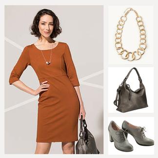 DAS perfekte Kleid - je nachdem welche Accessoires du wählst, wirkt es mal Casual, Elegant oder besonders Feminin