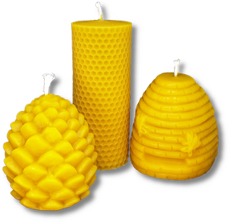 Bienenwachskerzen