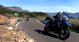 Motorradferien im Winter bei bestem Wetter auf Gran Canaria