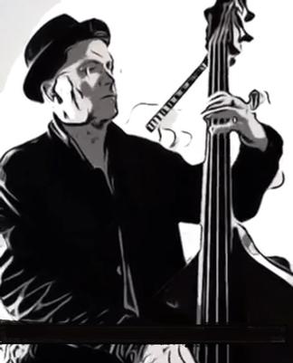 Jens Rosengarten, Band Leader, Bassist, Gitarrist, aus Rostock, M-V, Jazzmusik, Swingband