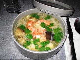 Bouillon de crevettes, saveurs du Viêt-Nam