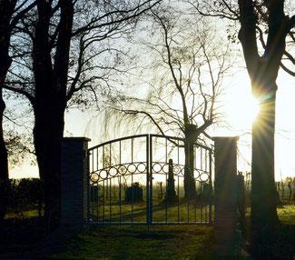 Jüdischer Friedhof Berne - Wesermarsch - Niedersachsen 2. 11. 2016