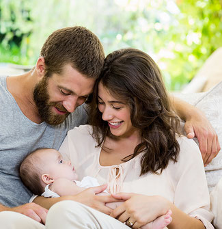 Neugeborenes Wochenbettbetreuung