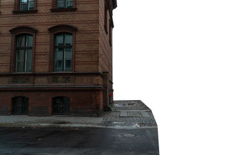Haus linke Seite