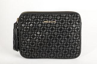 Laptop Tasche XL Clutch aus Leder hochwert verarbeitet von EMMA MY LOVE