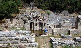 UNESCO-Weltkulturerbestadt Butrinti