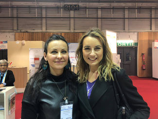 avec LAETITIA BARLERIN, célèbre journaliste vétérinaire, spécialisé dans le félin
