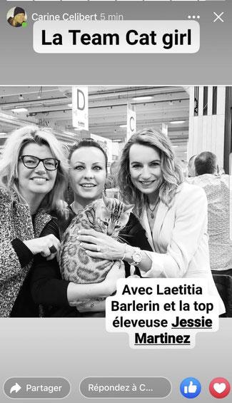 avec 2 journalistes extras investies dans la cause animale: Laetitia Barlerin et Carine Celibert, 2020