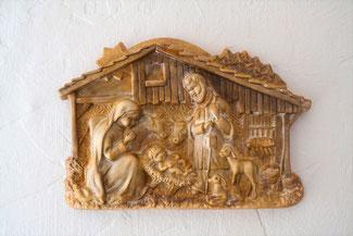Wandschmuck für Weihnachten