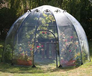 Sunbubble - das mobile Gewächshaus für kleine Gärten www.the-golden-rabbit.de
