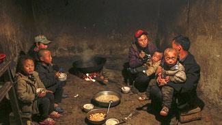 La seconda potenza economica mondiale, mostra la propria miseria