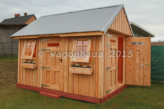 wagonhaus holzbau wagonhaus l rchen gartenhaus. Black Bedroom Furniture Sets. Home Design Ideas