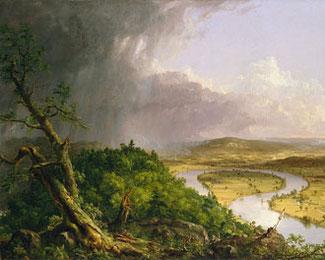 Thomas Cole: The Oxbow, 1836