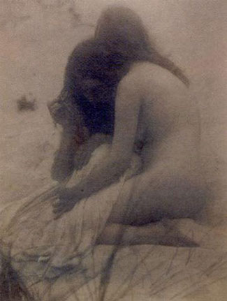 Alice Boughton: Comforted, 1906