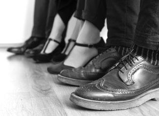 Foto Füsse und Schuhen