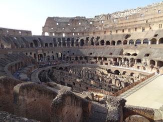 Rom: Im Inneren des Kolosseums