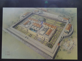 Rom:  Caracallathermen, Rekonstruktion