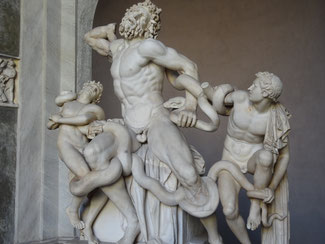 Rom, Vatikanische Museen: Laokoon