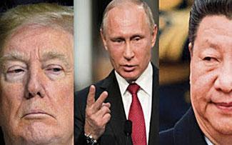 Diego Olivera Evia   La histeria de Trump que ve enemigos en la UE, Rusia y China