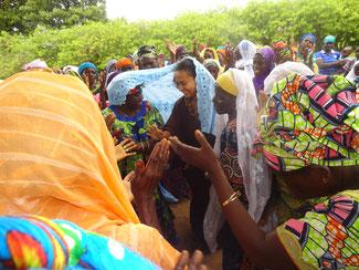 Danse de bienvenue au Togo