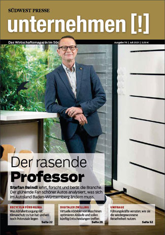 unternehmen Magazin Titel Ausgabe 76