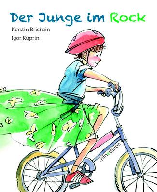 """07.03.2018, """"Der Junge im Rock"""", Minedition Verlag."""