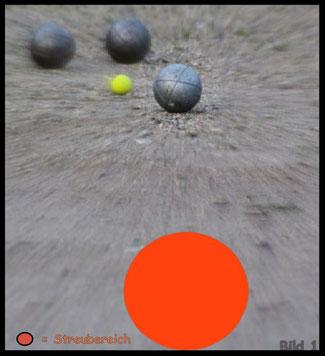 Boule - Pétanque / Schusstraining / Tireurtraining im Spiel 1