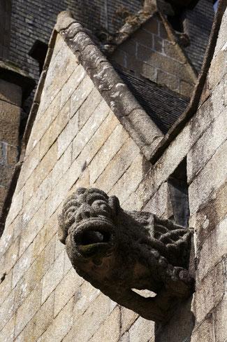 Gargouille de l'église Saint-Sulpice à Fougères© D. Bordes