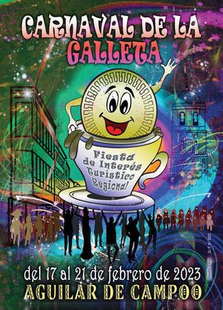 Cartel del Carnaval de la Galleta de Aguilar de Campoo