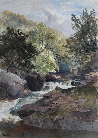 Karl Lang Archiv Büsingen Thomas Burton Watkin Forster TBWF Aquarell watercolor